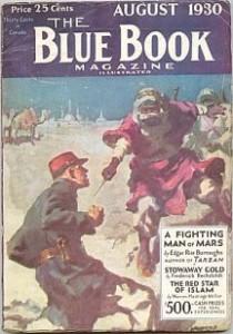 A tu mała niespodzianka. Na Marsie nie ma Świętego Mikołaja i austryjackiego żołnierza/żandarma. Ot, na okładkę trafiła inna historia z tego numeru czasopisma.