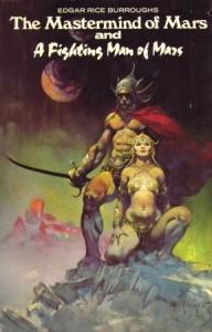 Natomiast zawsze można liczyć na Franka Frazettę. Tym razem Mars bardzo Conanowy i  całkowicie słusznie.