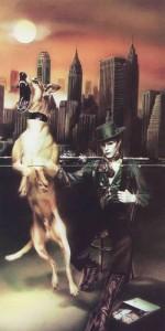 """Na koncertach Bowie nazywa Diamond Dogs """"doggie album"""". Nic dziwnego."""