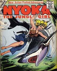 Nyoka, czyli tytułowe Dziewczę dżungli w wydaniu filmowym, była bardzo dzielną bohaterką komiksów.