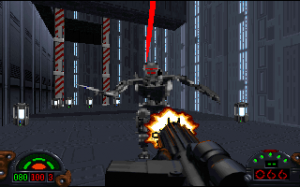 Dark Trooper w wersji pierwszej. Szybki i morderczy.