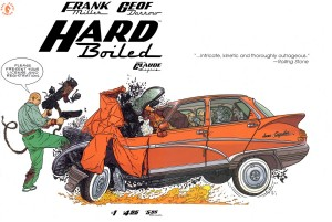 Okładka zeszytowego wydania komiksu. Ładna, choć szkoda samochodu.