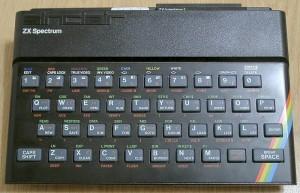 Spektrumn, gumiak, czyli jeden z ważniejszych komputerów 8bitowych.