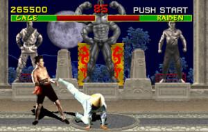 A masz! Wyjatkowo bezkrwawy kadr z Mortal Kombat