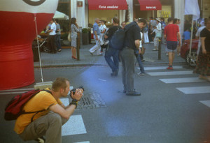 Zdjęcie kompaktem średnioformatowym produkcji brytyjskiej. Stąd słaba jakość - większość aparatów fotograficznych, które nie były efektem rabunków po Wojnie, była bardzo słaba.