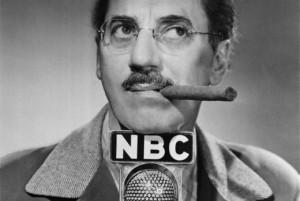 Promocyjne zdjęcie Groucho na potrzeby radia