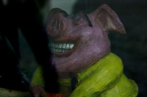 Ta świnia cieszy się z braku weny autora
