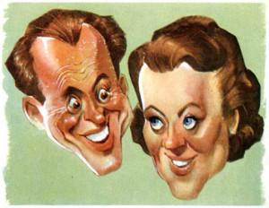Karykatura z 1947