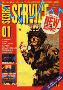 Secret Service powstał w wyniku ucieczki redakcji Top Secret do własnego wydawnictwa. Zarazem już od pierwszego numeru udało im się stworzyć wizualny schemat okładek, który przetrwał do samego końca pisma.