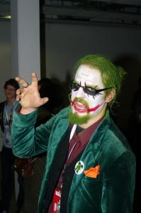 Oto rozwiązanie zagadki, co by było, gdyby Joker miał brode.