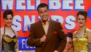 Lester Guy ma szczery uśmiech nawet w reklamie. Bardzo szczery (tak samo szczery jak w Twin Peaks)